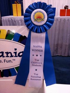 We won NAPPA's (National Parenting Publications Awards) Honors Award for the TagBall interactive toy!