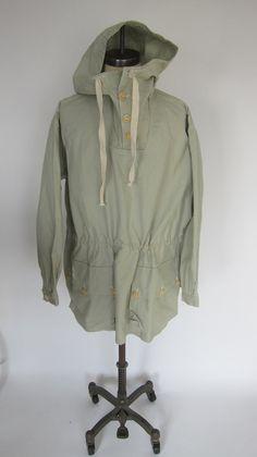 Vintage WWII SWEDISH Army Ski Parka Anorak Jacket