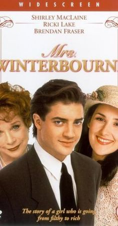 Mrs. Winterbourne (1996) on IMDb: Connie Doyle is eighteen and pregnant when her boyfriend kicks her out. She accidentally ends up on a train where she meets Hugh Winterbourne and his wife Patricia who is pregnant. The train wrecks and she wakes up in the hospital to find out that it's been assumed that she's Patricia. This is a story about love and family.  Family does not always mean blood ties and sometimes we are just lucky to meet loving wonderful people at the right time.