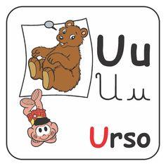 Eu já havia postado esse alfabeto, mas a minha amiga Poliana, do blog http://www.coisinhasdatiapoli.blogspot.com/  modificou, col...