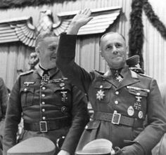 Wilhelm Keitel and Erwin Rommel