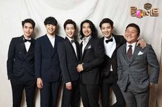 """Male Cast Members of """"Roommate"""" Get Dressed Up in New Group Photos"""
