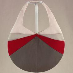 Candy - Patron de sac rayonnant  Candy - Radiating bag pattern  #couture #sac  #sewing #bag