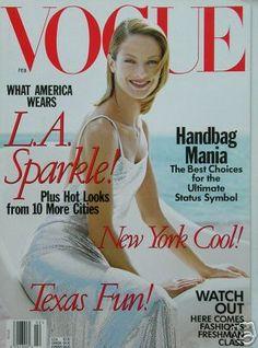 Vogue US February 1998 - Carolyn Murphy,  West Coast