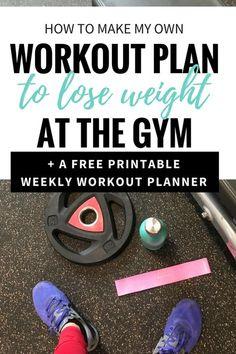 How To Make Your Own Workout Plan [printable] — Megan Seelinger Coaching