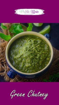Coconut Recipes, Veg Recipes, Spicy Recipes, Curry Recipes, Indian Food Recipes, Indian Chutney Recipes, Coriander Chutney Recipe, Green Chutney Recipe, Healthy Indian Snacks