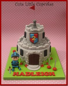 Knight Birthday Cake