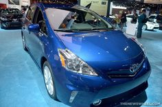 Earning an IIHS Top Safety Pick?  The 2015 Toyota Prius v!