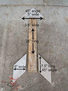 hottest decorating trend- wood arrows- DIY