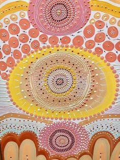 Indigenous Australian Art, Indigenous Art, Canvas Art, Canvas Prints, Lino Prints, Block Prints, Aboriginal Dot Painting, Sacred Meaning, Deco