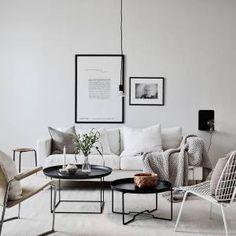 I wish I lived here: 3 light, calm living rooms