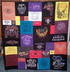 Best T-shirt Quilt of 2016 Harley Davidson