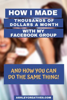 What if I told you that you could use a Facebook group to make thousands of dollars a month for your business? And that by doing it you could learn exactly what your customers want, develop die hard lifelong customers, and grow your business on your other platforms as well? Learn how I did it. And you can do it too. #facebookmarketing #facebook #entrepreneurship