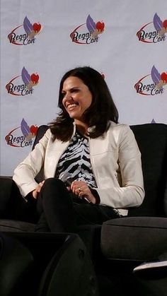 Lana Parrilla at Regal Con (May 9, 2015)