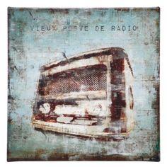 Vintage Radio from #zgallarie