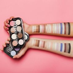 """those beauties which shade of our """"my must haves"""" eyeshadows is your favourite? #eyemazingessence #swatchparade"""