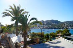 The venue, Port Andratx, Mallorca