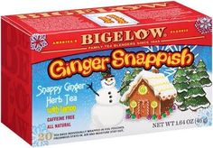 Savor the snap in Bigelow Tea Ginger Snappish® Lemon Herbal Tea #ginger #lemon #tea