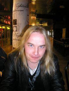 Emppu Vuorinen, Nightwish Guitarist. #Angel #Inspiration #Love #blueeyes #blonde #Finnishmen #musician