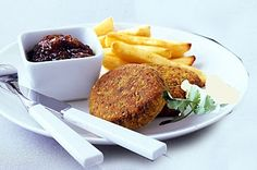 These crunchy vegetarian patties taste so delicious that it is hard to believe how good they are for you.