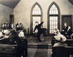 Still of Charles Chaplin in The Pilgrim