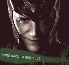 Loki's Dirty Whispers  Is it weird that this is a turn on?