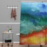 Found it at AllModern - Jacqueline Maldonado Woven Polyester Leaving California Shower Curtain