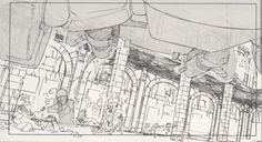 ....The Magic of Animation — external-storage: Mitsuo Iso's layout drawings...