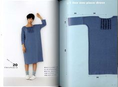 Yoshiko Tsukiori's Straight Stitch Apron and Apron by pomadour24: