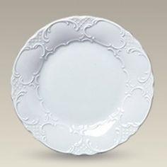 "9.75"" Scrolled Embossed Plate"