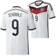 New Germany (9 Schurrle) 2014 World Cup home soccer jersey Adidas wholesale 1934 - http://www.snstar.com/2014-world-cup-c-45