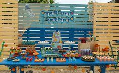 festa infantil com tema 'fundo do mar' no 'fazendo a festa'