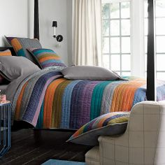 Spectrum Handmade Contemporary Quilt   The Company Store