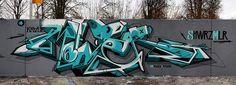 kkade graffiti mural switzerland Speaking with Kkade Urban Hip Hop, City Pages, Wildstyle, Graffiti Murals, Hip Hop Art, Urban Art, Street Art, Neon Signs, Creative