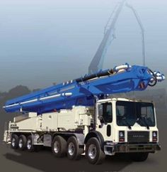 Buy Direct and Save$$$ with Concord Concrete Pumps' Truck mounted line and boom Concrete pumps.