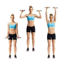 15-Minute Arm Workout:  Armed For Summer from Women's Health (circuit)