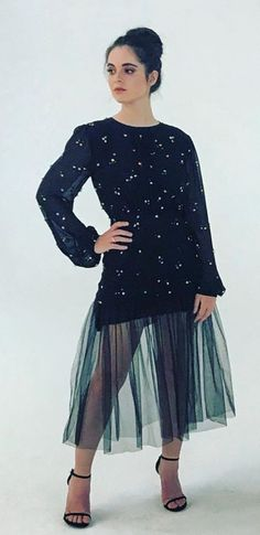 Vanessa Marano, Gilmore Girls, Tulle, Dresses With Sleeves, Long Sleeve, Skirts, Fashion, Moda, Skirt