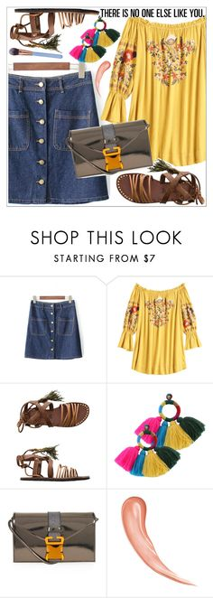 """""""No one else like you"""" by teoecar ❤ liked on Polyvore featuring Free People, Christopher Kane and Luxie"""