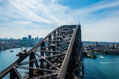 Sydney Harbour Bridge, Sydney, New South Wales, Australia - Wandering the World