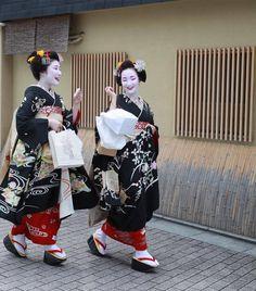 Geiko & Maiko — Hassaku 2017: Sisters Maiko Yuriha and Tatsuha...