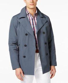 MICHAEL Michael Kors Men's Cameron Double-Breasted Raincoat