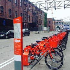 biketown bike share rental service in Portland, Oregon
