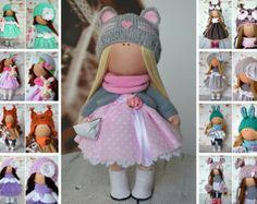 Tessuto bambola bambola interni Rag doll Art bambola bambola