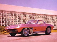 George Barris' Asteroid Corvette, bespoke 1963