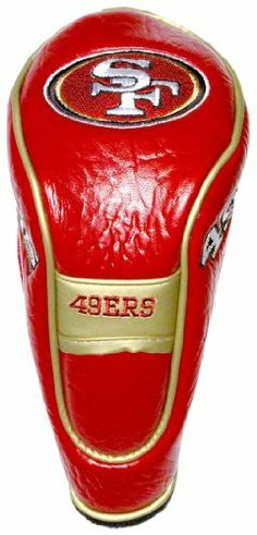 NFL San Fransisco 49ers Hybrid/Utility Headcover by Team Golf. $17.99. Velcro closure. Fits all utility, rescue and fairway clubs. Velour lined for extra club protection. Made with Buffalo Vinyl, Polyester Knit and Mesh. 4 location embroidery. NFL San Fransisco 49ers Hybrid/Utility Headcover