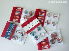 Madigan Made: Make a quick gift: Glass gem magnets