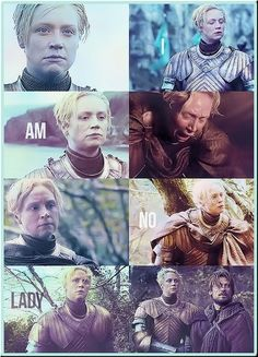 I still freaking love you!!! My favorite character :) super huge girl crush you guys, I'm not even joking! If I met Gwendoline Christie, I'd probably faint.