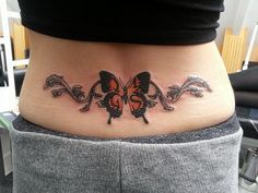 Low Back Tattoo - 60+ Low Back Tattoos for women  <3 <3