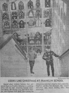 "Dec. 14, 1967 - ""Looks like Christmas as Franklin School."""