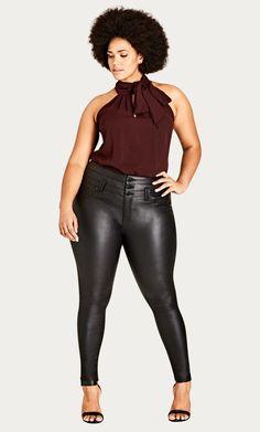 Fashion Bug Plus Size Corset Skinny Skylar Jean #FashionBug #PlusSize #Jeans www.fashionbug.us